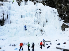 Ice fall of Stassaz