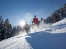 snowshoeing with the guides of Megeve